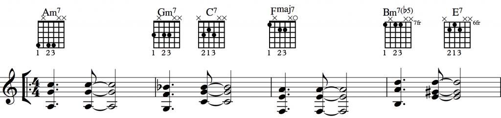 Sunny Shell Chords 1-1