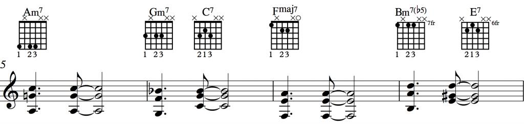 Sunny Shell Chords 1-2